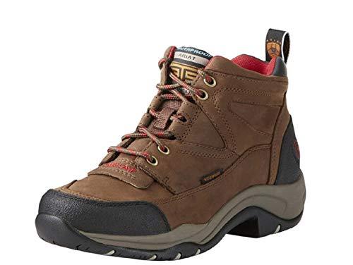 Ariat Women's Terrain H2O Hiking Boot, Distressed Brown, 7.5 B US