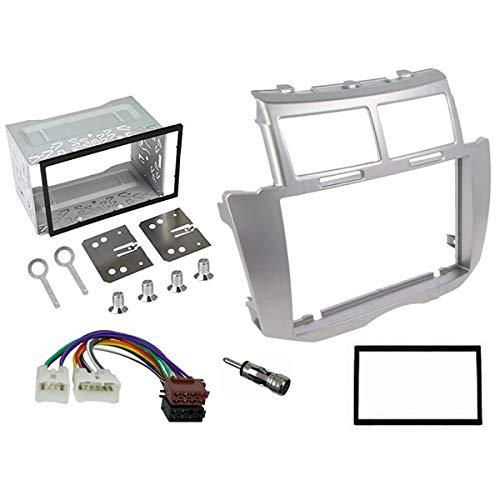 Sound Way - Kit Montaggio autoradio 2 DIN Adattatore per Toyota Yaris 2005-2011 - 2D-YARIS09