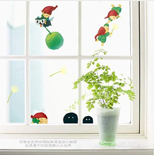 Original New Design Nome Little World Wandaufkleber Wohnkultur/Kreative Nette Tasse Fenster Wandkunst/Geschenk Für Kinder Freunde
