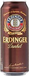Erdinger Dunkel Dark Wheat Beer Can, 24 x 500ml