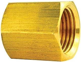 4LIFETIMELINES Brass Brake Line Union, 3/8 (5/8-18 Inverted), 10/bag