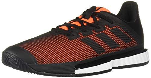 adidas Solematch Bounce - Zapatillas de Tenis para Hombre, Color Negro, Talla 50 EU