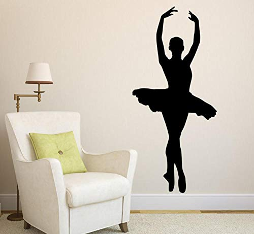 Muursticker 42 x 95 cm Elegante ballerina applicatie kan Pvc Home Decoration Moderne waterdichte zelfklevende kunst creatieve DIY Bewegen