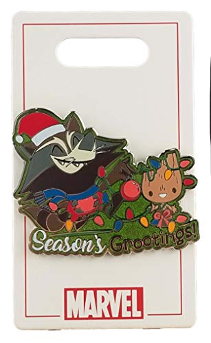 Disney Pin - Holiday 2020 - Guardians of the Galaxy - Rocket and Groot