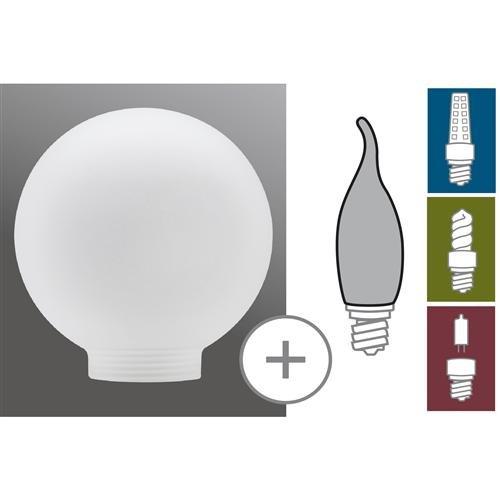 verre fluocompacte Globe 80 satin
