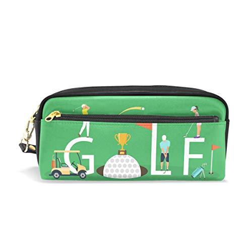 Estuche de lápices Bolso Monedero Club de golf Copa de pelota de golf para estudiante Chica Niño...