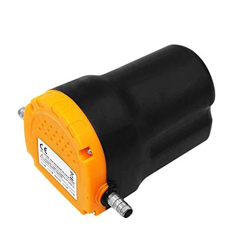 Ashley GAO Bomba de aceite del motor del automóvil 60 W 12 V/24 V aceite eléctrico líquido sumidero extractor de combustible transferencia bomba de succión motor barco