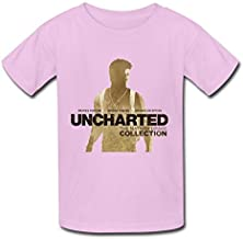 FEDNS Kid's Uncharted The Nathan Drake Collection Listing T Shirt