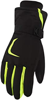 Men'S And Women'S Winter Warm Waterproof Touch Screen Plus Velvet Ski Gloves