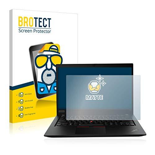 BROTECT Entspiegelungs-Schutzfolie kompatibel mit Lenovo ThinkPad T14s Gen 1 Bildschirmschutz-Folie Matt, Anti-Reflex, Anti-Fingerprint