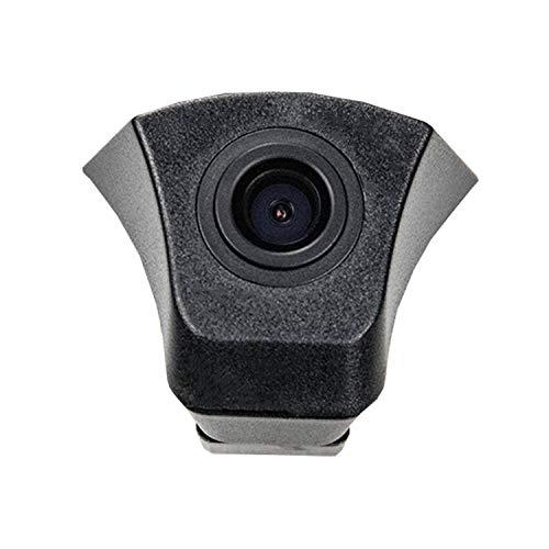 Front-Kamera- perfekt,170° Wasserfest 1/3 HD CCD Emblem Kamera (Schwarz) & unauffällig ins Front-Emblem integriert für Audi Q5 Audi A3 A4 A5 A6 A8 Q7 S5 2012-2016