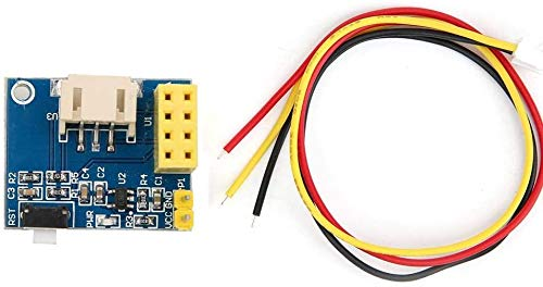 Lot de 2 modules de contrôle de lumière LED RVB ESP8266 ESP-01 ESP-01S WS2812