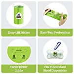 Pogi's Compostable Poop Bags - 9 Rolls (135 Bags) - Leak-Proof, Extra-Large, Plant-based, ASTM D6400 Certified Home Compostable & Biodegradable Waste Bags for Dogs 10