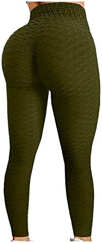 Portazai Butt Lifting Anti Cellulite Sexy Leggings for Women High Waisted Yoga Pants Workout product image