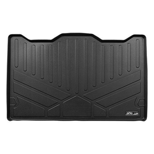 MAXLINER All Weather Cargo Liner Floor Mat Behind 3rd Row Black for 2007-2014 Chevrolet Suburban/GMC Yukon XL