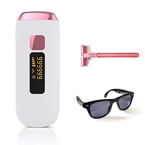 S SMAUTOP Laser Permanente ontharing, 999.999 Flash-geüpgraded professioneel ontharingsapparaat, 5 niveaus instelbaar, met LCD-scherm, Volledige lichaamsverzorging Pijnloos