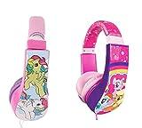 Sakar 30357-TRU Batman Kid Safe Over the Ear Headphone w/ Volume Limiter, My Little Pony