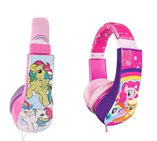 Sakar Kids Safe Over The Ear Headphones, Volume Limiter for Developing Ears, 3.5MM Stereo Jack, Recommended for Ages 3-9