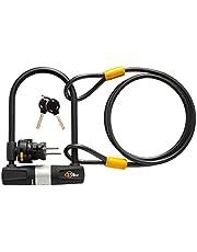 Via Velo Bike U Lock with Cable