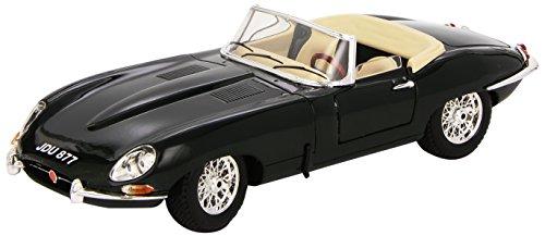 Bburago - 12046gr - Véhicule Miniature - Modèle À L'échelle - Jaguar Type E Cabriolet - Echelle 1/18 - Vert