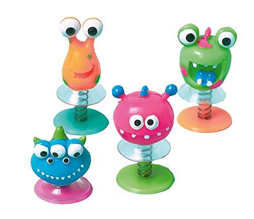 Amscan INT390620 - Pop Ups Figuren, 12 Stück, Plastik, Mitgebsel, Kindergeburtstag