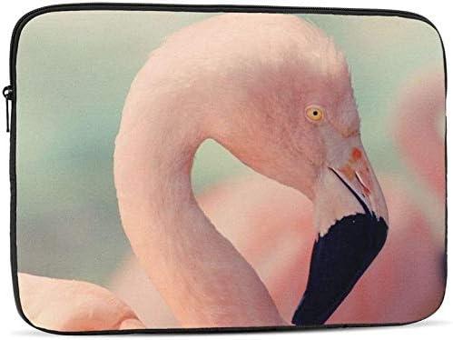 Pink Flamingo Zipper Laptop Max OFFicial 65% OFF Bag Carring Cas Sleeve