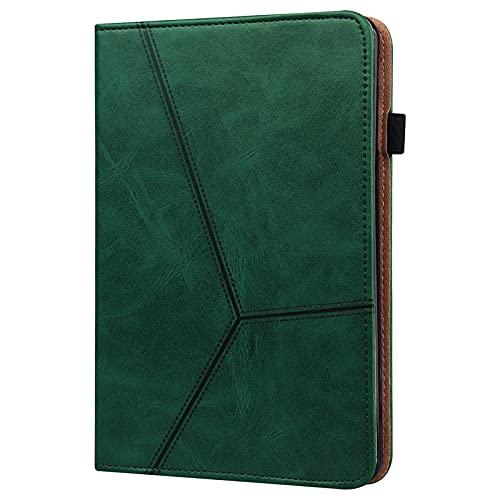 JIan Ying Funda para Samsung Galaxy Tab S2 9.7 SM-T810 T815 Tablet Slim en relieve Protector Cover Verde