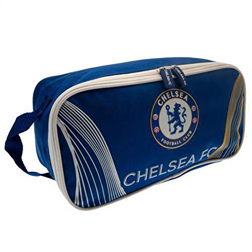 Chelsea Football Club Official Matrix Design MX Boot Bag Badge Crest Gym School