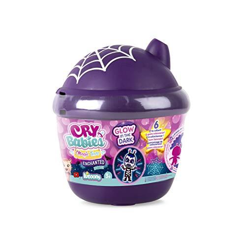 IMC Toys 91368IM - Cry Babies Magic Tears, casetta per biberon Enchanted Edition