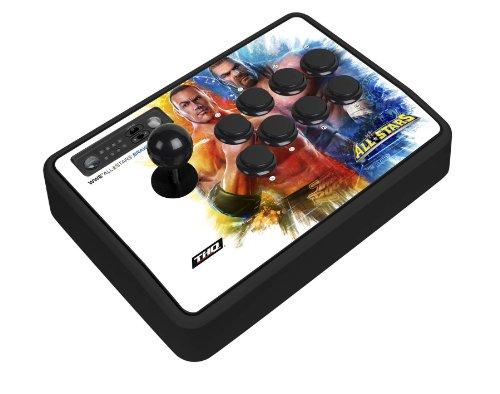 Mad Catz WWE All STARS BrawlStick - Volante/mando (Special, Playstation 3, Con cables, USB, 4 m, Negro, Múltiple)