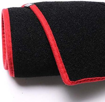 Color Name : Left Hand Drive, Size : Black Edge Mlzaq for Nissan X-Trail X Trail T31 2008-2013 Mano Destra e Sinistra unit/à cruscotto Copertura Mat Ombra del Rilievo Tappeti Accessori