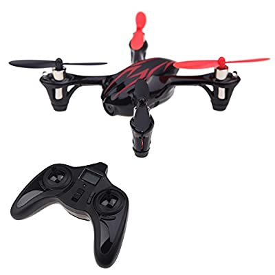 STOGATfun STG001 Hubsan X4 H107C 2.4G 4CH RC Quadcopter With Camera RTF(Black/Red)