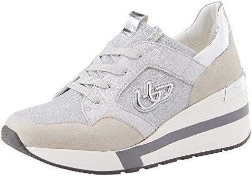 Byblos Running Glam, Sneaker Donna, Argento, 40 EU