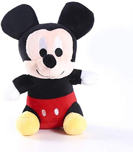 NC88 Juguete de Peluche Caliente de 18 cm de Peluche de Mickey y Minnie Mouse, muñecos de Peluche, Regalos de cumpleaños para niños, niños