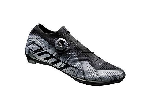 DMT KR2 - Zapatillas de ciclismo de carretera, color negro, color Negro, talla 42 EU