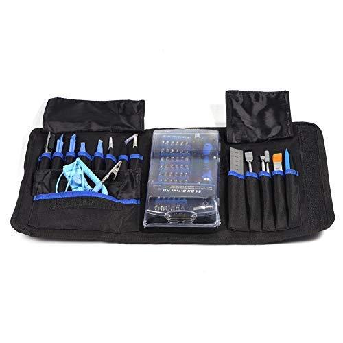 80 in 1 Präzisions-Schraubendreher-Set, magnetisch, Reparatur-Set für Handys, Handys, Uhren, Laptops, Tablets