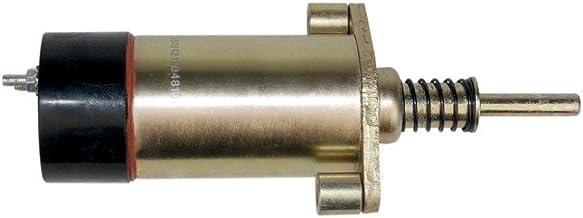 KEYOPO Fuel Shut-Off Solenoid 12V 2 Terminals 125-5773 8C-9986 1255773 SOL22103 for Caterpillar3406C SR4 3204 3304 3306 34...