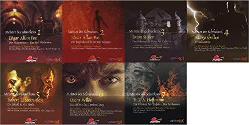 Meister des Schreckens 1+2+3+4+5+6+7 CD Maritim Verlag Hörspiele