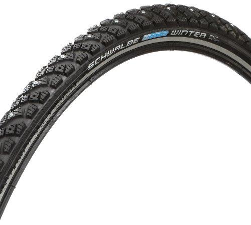 Schwalbe Fahrrad Reifen Winter WIC spike//alle Größen, Ausführung:schwarz, Drahtreifen, Dimension:30-622 (28×1,20´´)