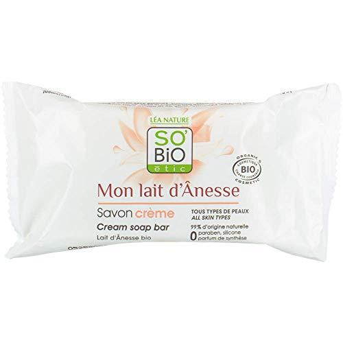 So'Bio Étic Mon Lait d'Ânesse Savon Crème 100 g