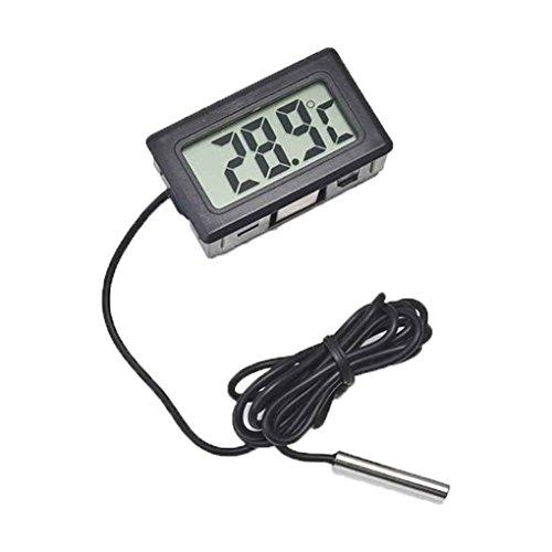 Bobury Termómetro LCD Digital para Nevera Nevera Congelador Medidor de Temperatura -50 hasta 110 ° C