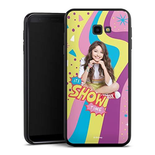DeinDesign Silikon Hülle kompatibel mit Samsung Galaxy J4 Plus Duos (2018) Case schwarz Handyhülle Offizielles Lizenzprodukt Soy Luna Disney