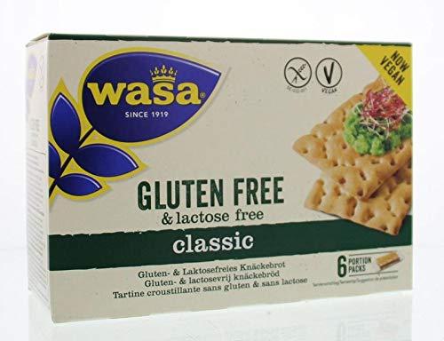 Pan sin lactosa y sin gluten Wasa 240gr