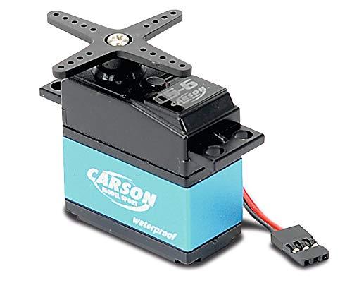 Carson 500502041 - Servo CS-6 Waterproof MG/ 6kg / JR