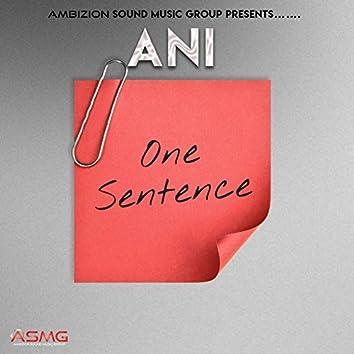 One Sentence