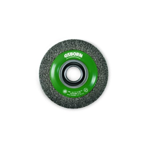 Osborn 9902554162 AR9902554162 Rundbürste 178x32mm gezopft aus Stahldraht, 178 x 32 mm