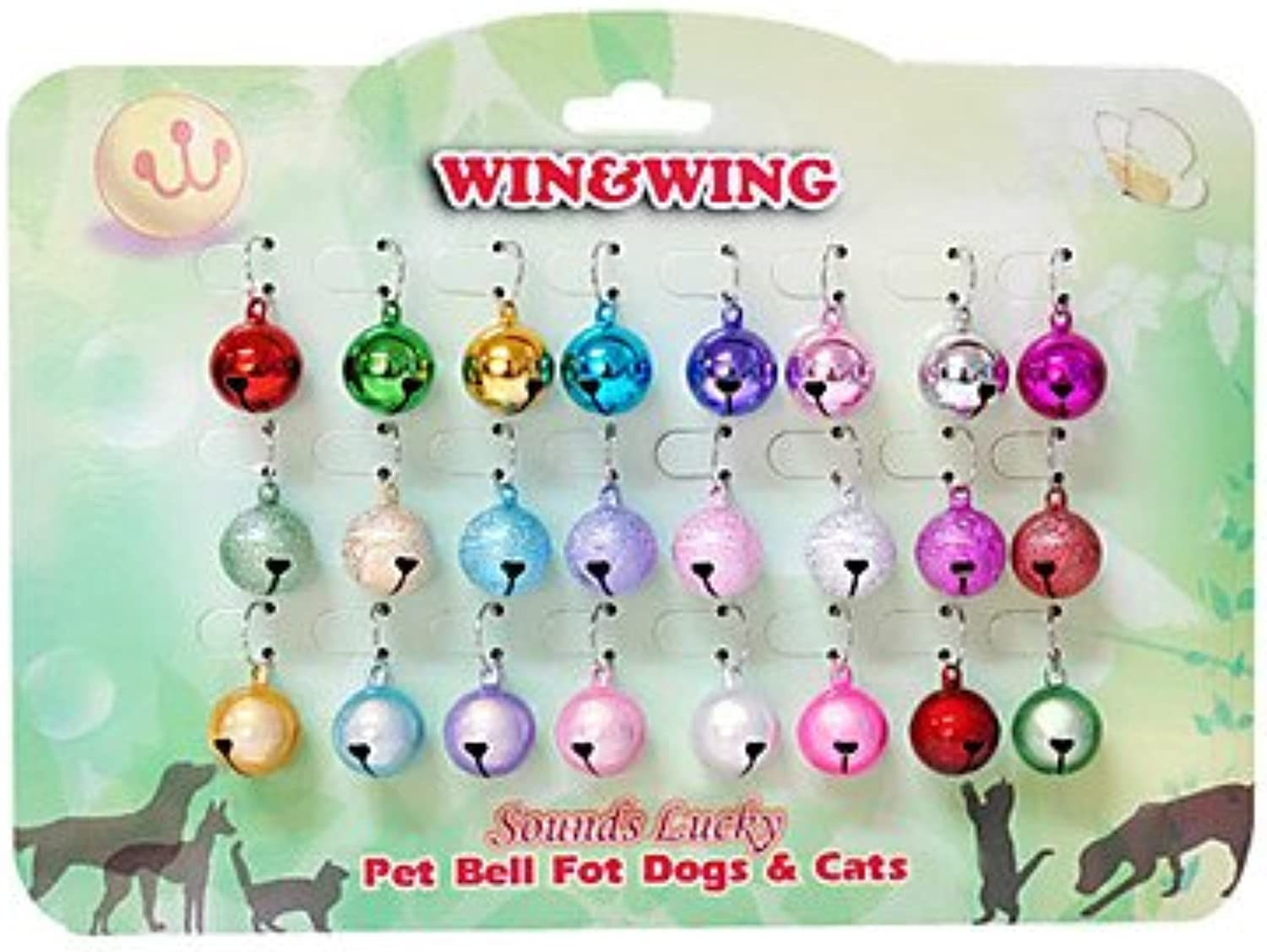 Quick shopping 20mm Onelinehollowed Copper Pet Bell for Pets Dogs Cats (24Piece)