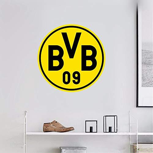 Wandaufkleber 3D Wandtattoo Dortmund Sport Fußball Team Logo Anmelden