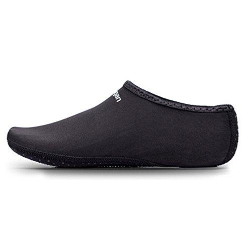 laamei Homme/Femme Unisex Chaussons de Plongée Chaussures d'eau Plage Antidérapants Piscine Natation Yoga Taille M