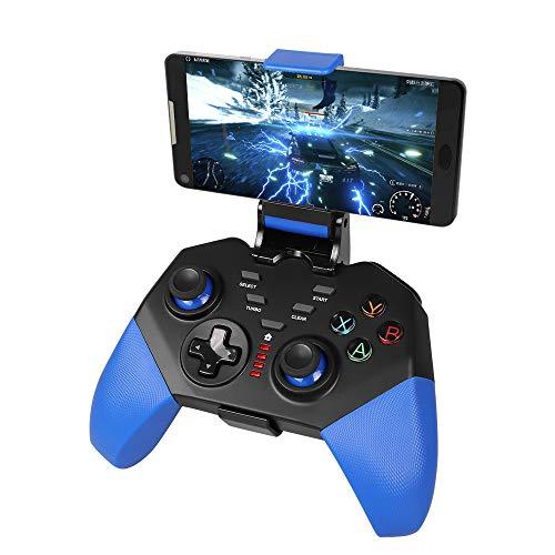 Gamepad mobile per PUBG, PowerLead PG8721 senza fili Joystick Turbo Combo Key Mapping Controller di gioco mobile per iOS per Android - Riproduzione diretta